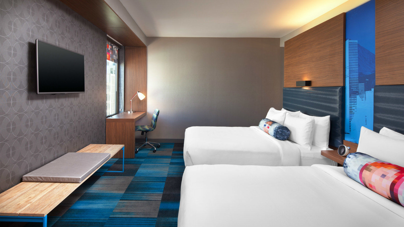 Aloft Double Queen Bedroom